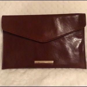 Brahmin Envelope Clutch - Chocolate Brown